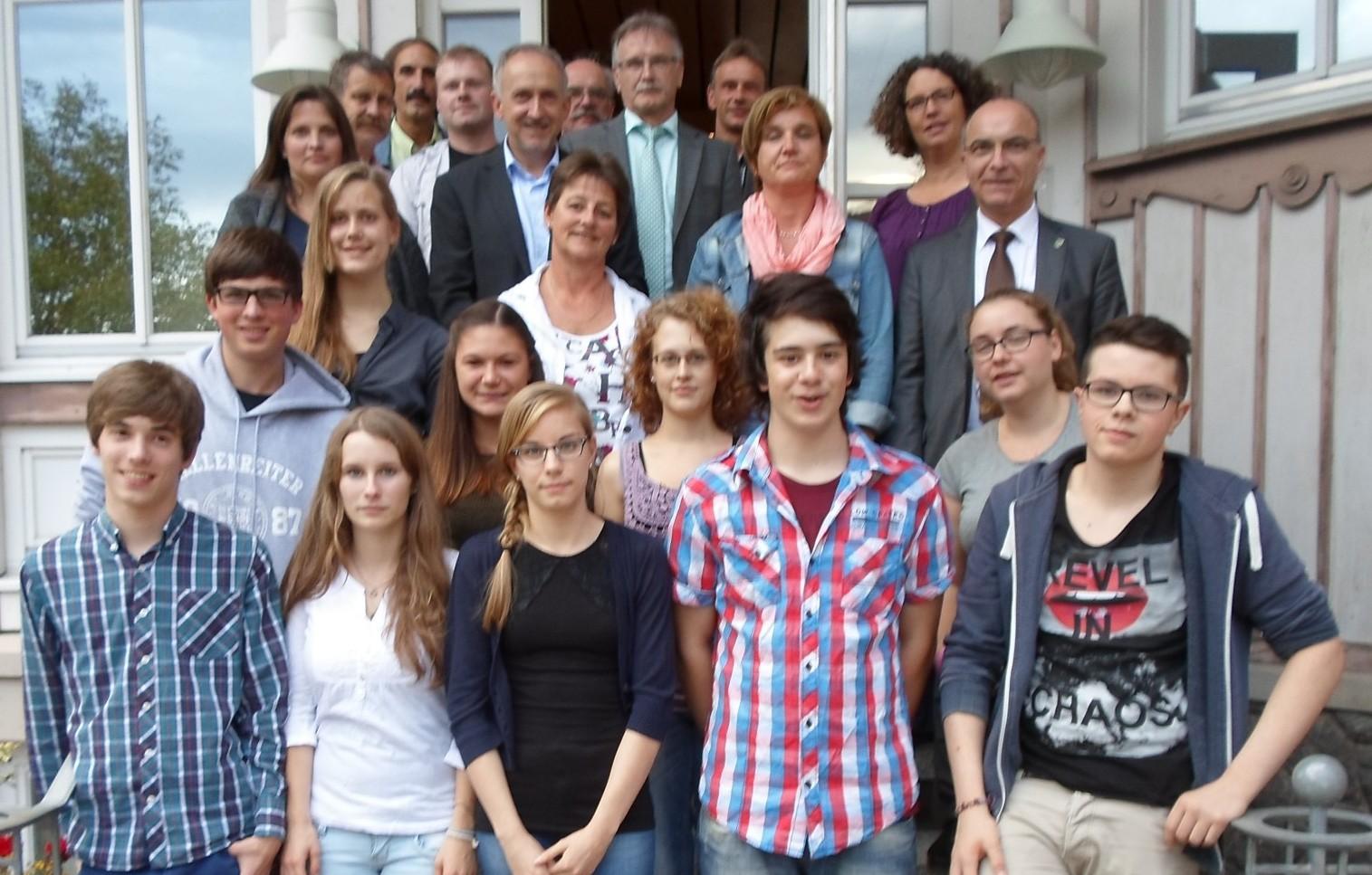 Gründung des Rates der Jugend