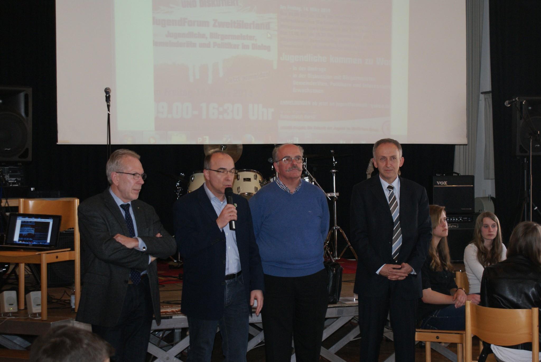 Interkommunale Sitzung aller Gemeinderäte der Gemeinden des Elz- und Simonswäldertals