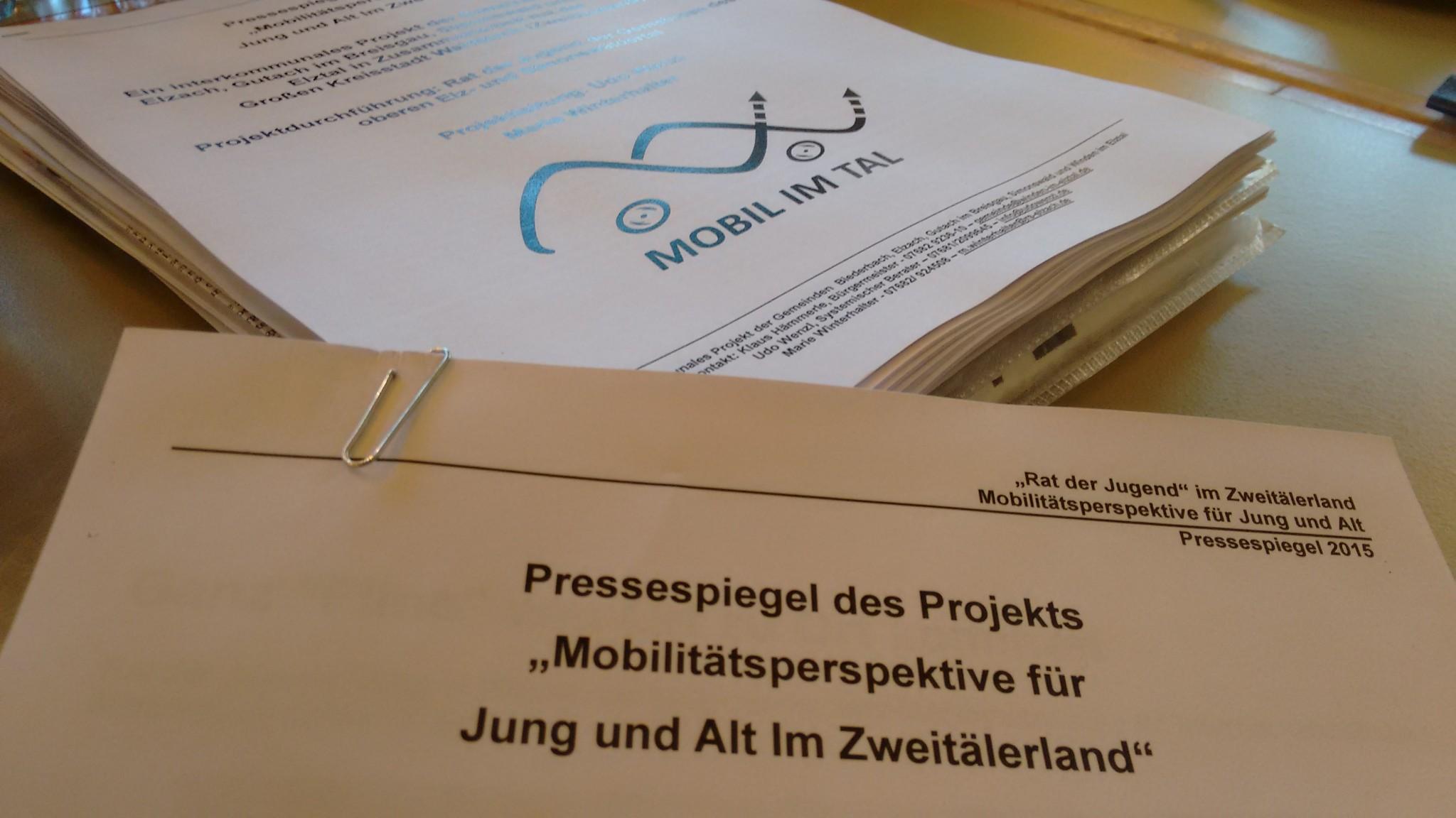Projektüberlegungen für das Ministerium für Verkehr und Infrastruktur Baden-Württemberg