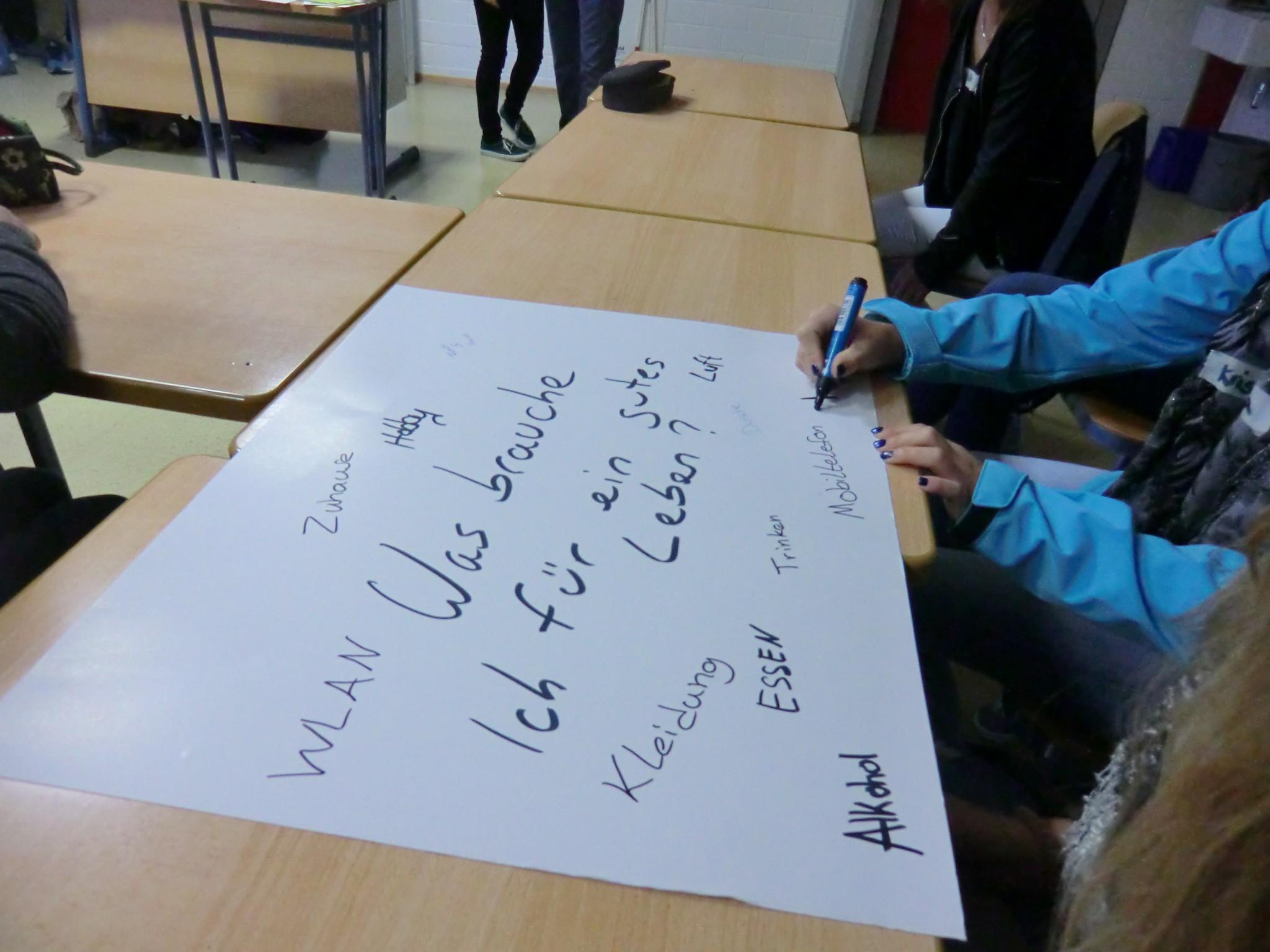 Schulworkshops zum Thema der nachhaltigen Mobilität